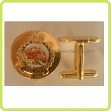 Customized Crown Cufflink Hz 1001 F005