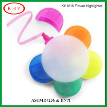Flower Shape Highlighter Marker