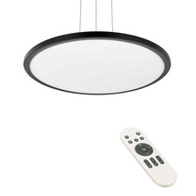 Nordic modern cct tunable suspended ceiling square round decorative 24w 40w 80w 18w led light panels