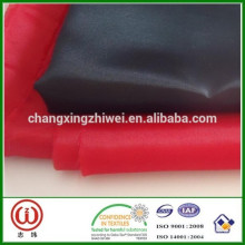 Poly fabric 190T lining 75 grams per meter taffeta