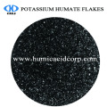 Flocons brillants de Humate de Super Potassium 100% Soluble