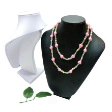 Faux Leather Jewelry Necklace Display Wholesale (NS-WL-Y2)
