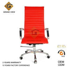 Typist Office Wheel Red Leather Chair (GV-OC-H306)