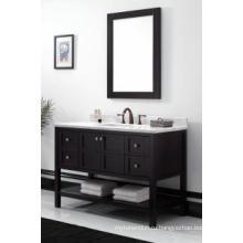 Деревянный главный шкаф зеркальный современный шкаф ванной комнаты (ин-8819713C)