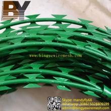 Alambre de púas recubierto de PVC