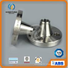 Reborde forjado del cuello de la soldadura del acero inoxidable de ANSI B16.5 con TUV (KT0282)