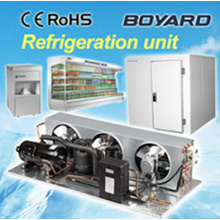Kommerzielle Kühlschrank Ersatzteilträger hvac Kondensatoren mit R404A horizontalen Kälte-Kompressor