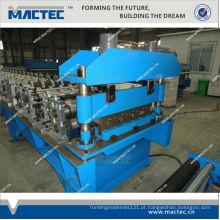 Plataforma de piso de aço laminado a frio de alta qualidade padrão europeu que faz a máquina