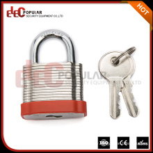 EP-8561 Elecpopular Factory For Sale Products Laminated Steel Shackle Solid Padlock