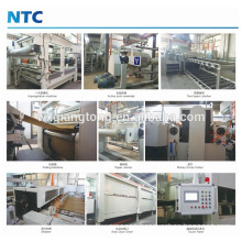 Decorative melamine paper gluing machine / Paper impregnation line