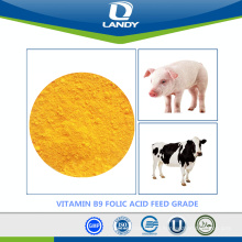 MOST PROFESSIONAL SUPPLIER VITAMIN B9 FOLIC ACID FEED GRADE