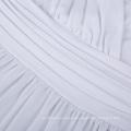 Kate Kasin Sexy Womens Cómodo correas Spaghetti V-cuello vestido de maternidad Maxi Blanco KK000674-2
