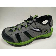 3 cores dos homens cinza / preto / marrom esportes sandálias