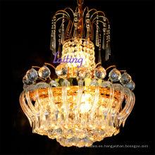 Luz al por mayor tradicional pequeña luz de la sala de estar de la lámpara de cristal