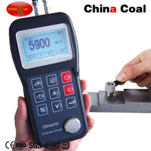 Ultrasonic Through Coating Thickness Gauge Tester