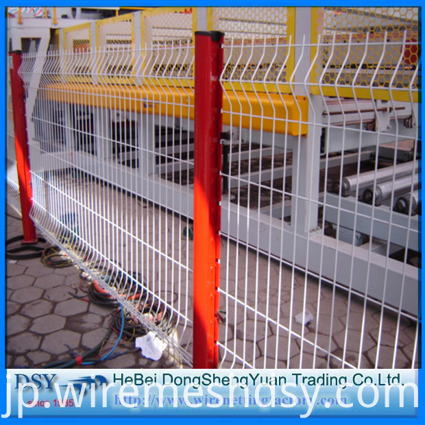 Welded Utility Bends Fence