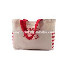 Холщовые сумки, Сумки для сумок, Красные и белые полосатые моды, Мешки для защиты окружающей среды