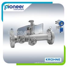 Medidor de flujo ultrasónico Krohne UFM530 HT