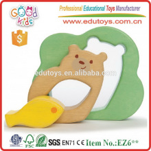 Los niños venden caliente inteligente juguete de madera oso juego de rompecabezas