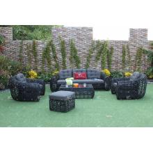 2017 Attractive Design Poly Rattan Outdoor Sofa Set