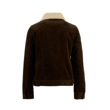 Настраиваемая винтажная повседневная женская куртка из вельвета