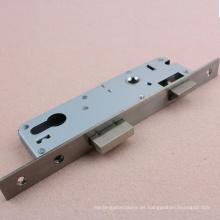 Cuerpo europeo estándar de la cerradura de la puerta del acero inoxidable 3585 del tipo de embutir