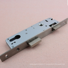 Serrure de porte en acier inoxydable type européen 3585 à mortaise