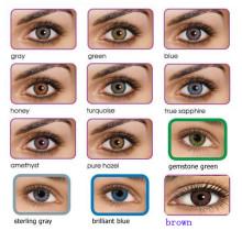 Высокое качество 12 цветов свежий цвет контактных линз
