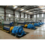 G8300 11kv /5 * 2000kw/ 750rpm /water Cooling Generating Sets Hfo Power Plant