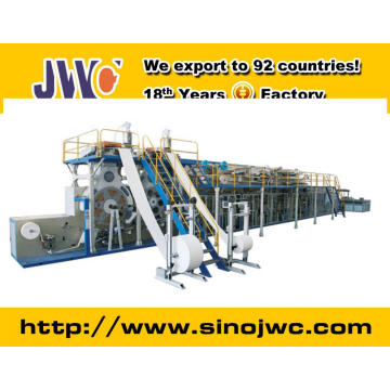 2015 Semi Servo Adult Diaper Making Machine