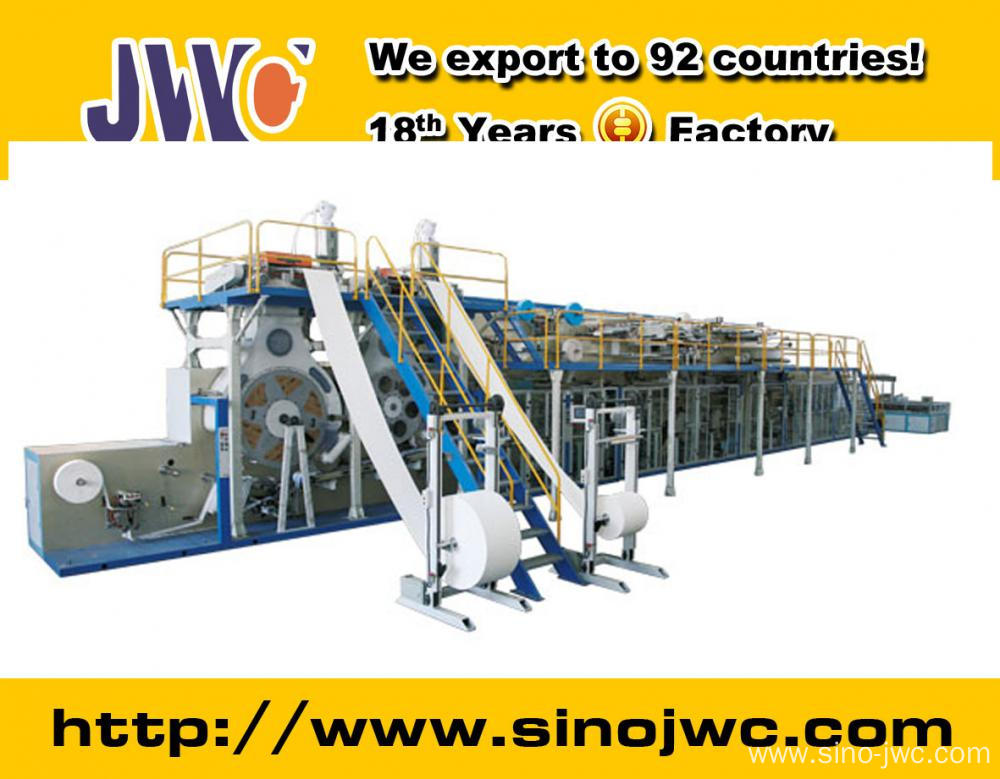 2015 Full Servo Adult Diaper Production Line