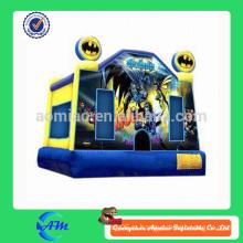 Новый стиль американский герой надувной батут bouncy замок для детей