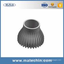 Kundenspezifische hochwertige Guss-Aluminium-Puder-Finish-Lampe