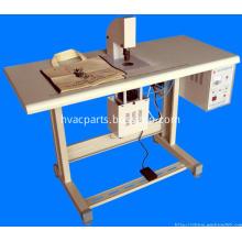 Ultrasonic spot welding machine for bag handle