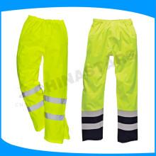 ANSI / ISEA 107-2010 Pantalon de sécurité réfléchissant haute visibilité classe E