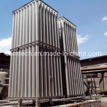 New Design Double Columns Cryogenic Liquid Nitrogen/Argon Filling Air Heated Vaporizers