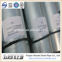 MANUFACTURERL48.3*3.5 HOT GALVANIZING STEEL TUBE WITH STANDARD DIMENSIONS AND WEIGHT