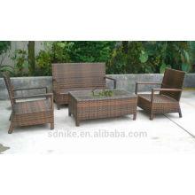 cheap outdoor recliner rattan sofa furniture