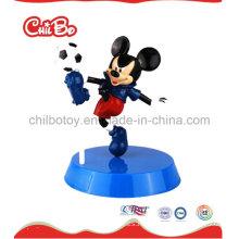 Pequeña figura plástica del juguete del ratón (CB-PM026-S)