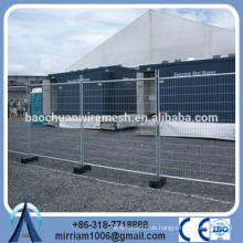 AS4687-2007 feuerverzinkte Konstruktion vorübergehende Zaunplatte / abnehmbarer Zaun (Professional)
