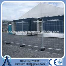 AS4687-2007 caliente galvanizado de inmersión de la construcción de panel de cerca temporal / valla desmontable (Profesional)