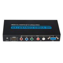 Convertidor de audio a HDMI VGA / YPbPr + R / L