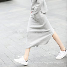 2016 Winter laldies fashionable cashmere knitting pattern wrap skirt