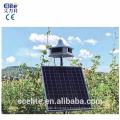 Répulseur d'oiseau solaire sans fil avec 8 sons et carte à puce sonore remplaçable