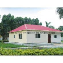 Durée de vie longue Forte pré-construction Structure d'acier Bâtiment de villa