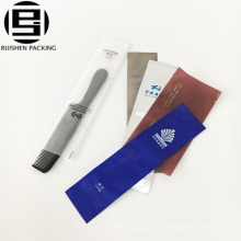 High quality disposable biodegradable plastic toothbrush comb packing bag