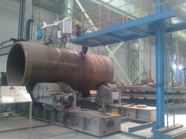 Pressure Vessel Narrow Gap Welding Column And Boom