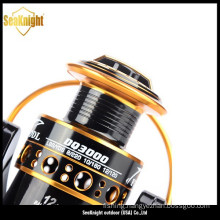 12+1 Ball Bearing Spinning Spool Fishing Reel with Aluminum Spool