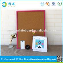 """Pequenas placas de cortiça com moldura de foto rosa rosa quadro bordo 45 * 60cm / 17.7 * 23.6 """""""