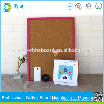 """small cork boards with photo frame rose pink frame board 45*60cm/17.7*23.6"""""""